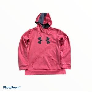 Under Armour Hoodie Pink Youth Girl YXL